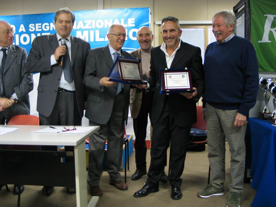 Alessandro Rossi tiratore dell'anno. La premiazione a Milano