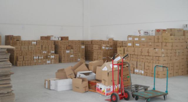 Successo per la raccolta di generi alimentari organizzata da Il Germoglio