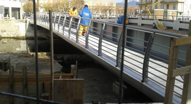 Ponte girante, al via l'ultima fase dei lavori: quasi pronte le asfaltature