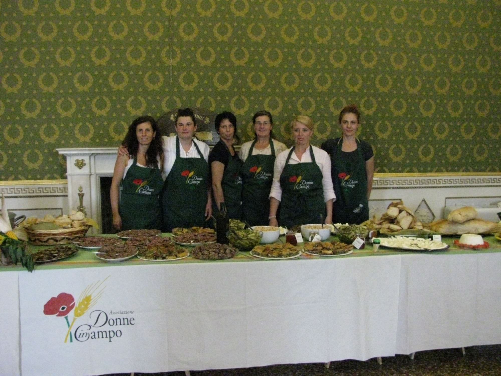 L'agricatering di Donne In Campo Toscana Nord conquista Expo 2015