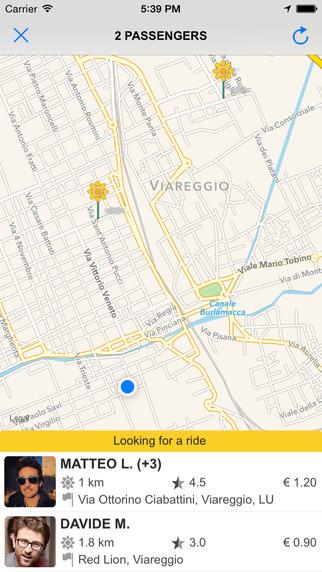 """Vuoi uno """"Strappo""""? Da un'idea di quattro giovani a Viareggio arriva il car sharing"""