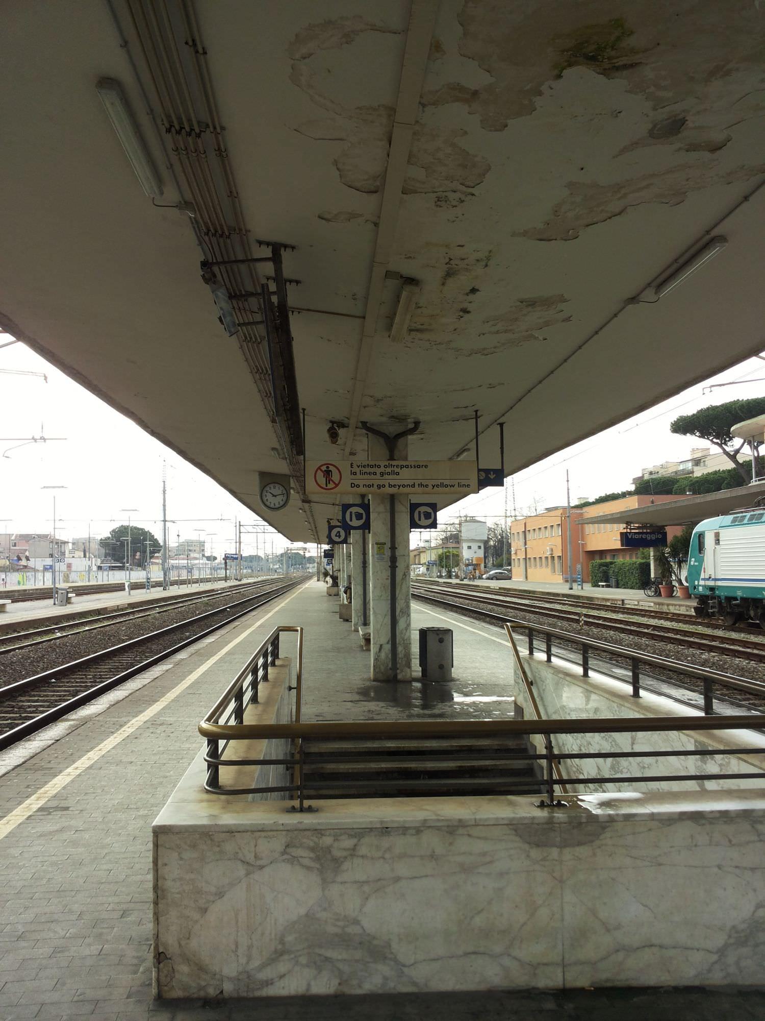 Presto un cantiere per la stazione di Viareggio