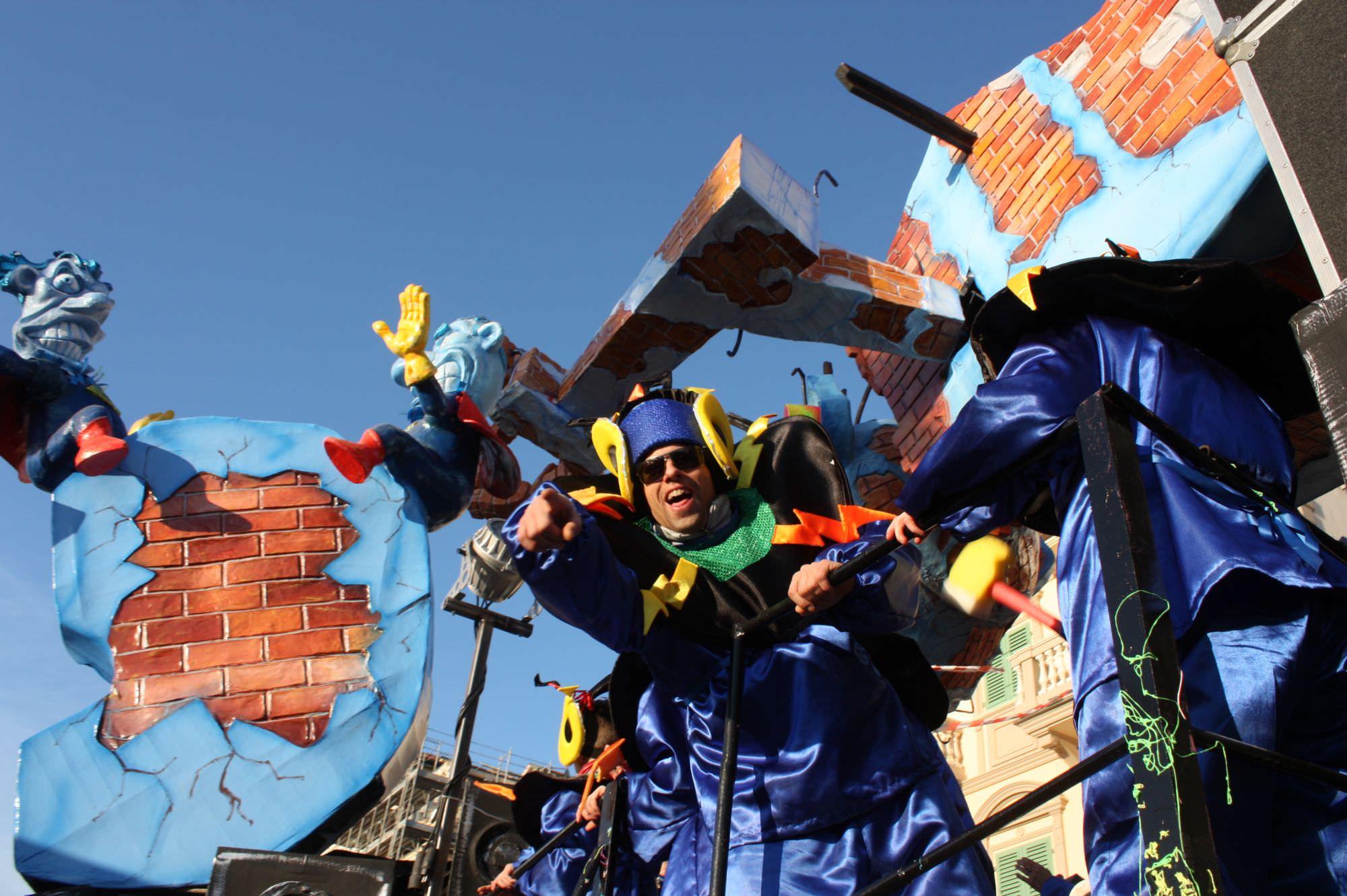 I giurati del terzo corso mascherato del Carnevale di Viareggio 2015