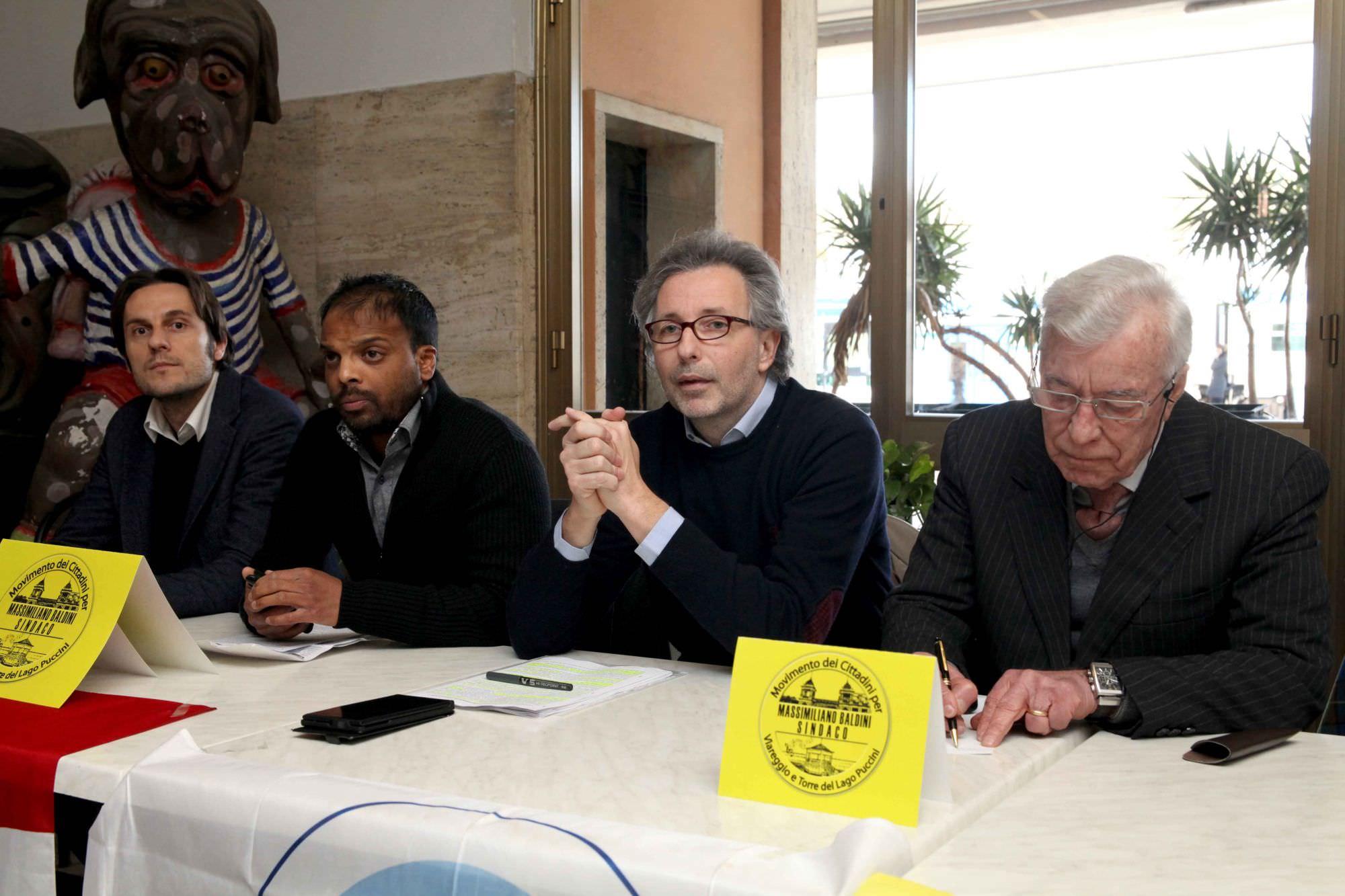 Elezioni Viareggio. Massimiliano Baldini scende in campo con Lega e Pli