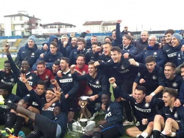 Alla Viareggio Cup il settimo sigillo dell'Inter, inutili per il Verona i miracoli di Gollini