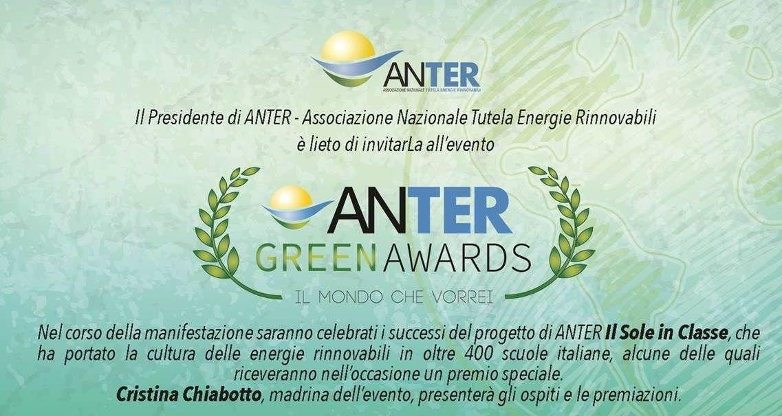 La scuola del Pollino in pole position per l'ANTER Green Award