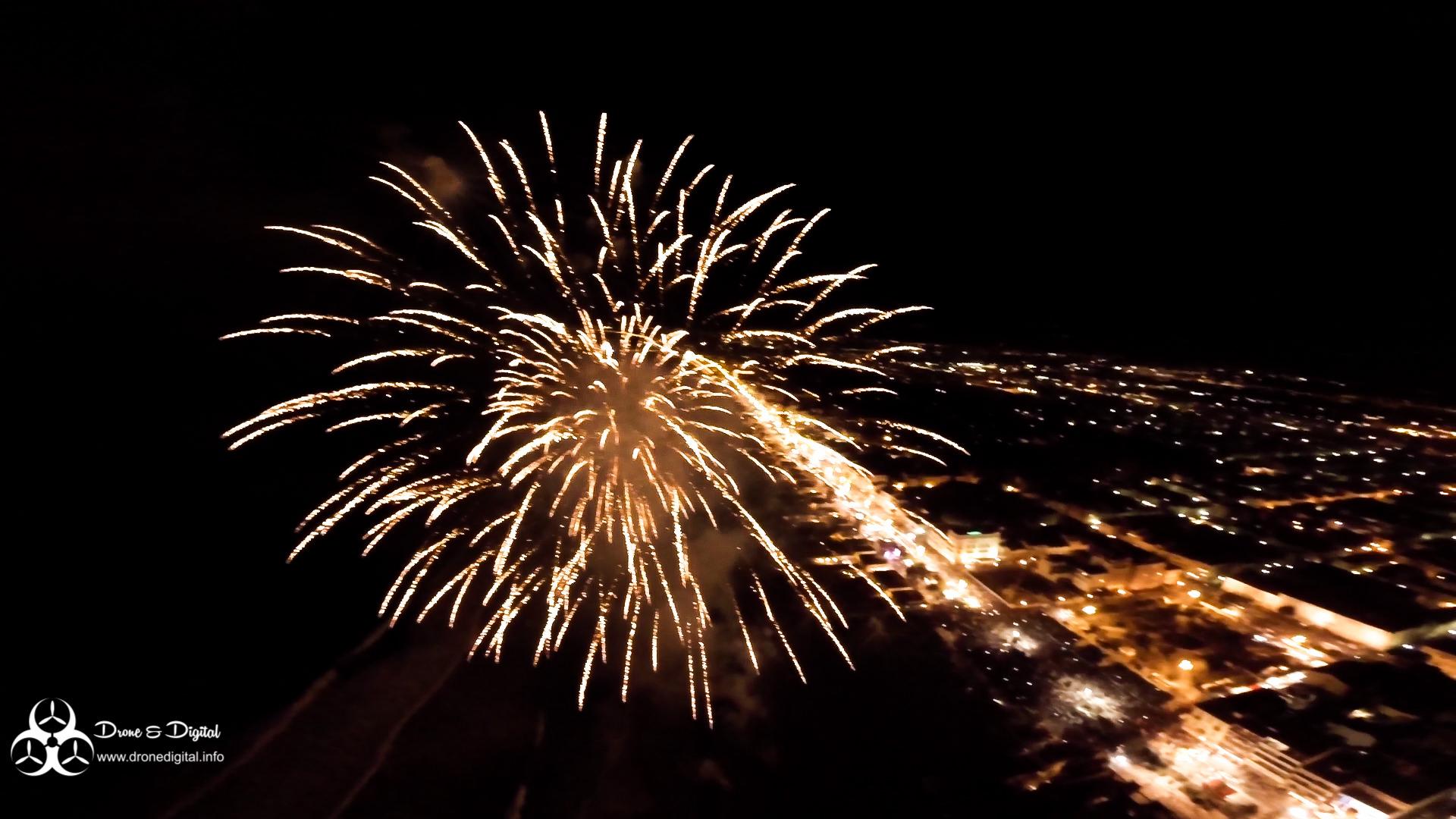 carnevale di viareggio Drone fuochi artificio fuochi artificiali
