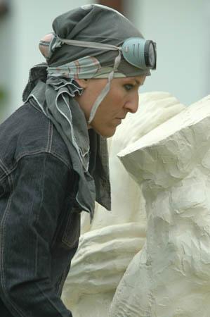 Pietrasanta al Sylacauga Marble Festival con Elena Mutinelli