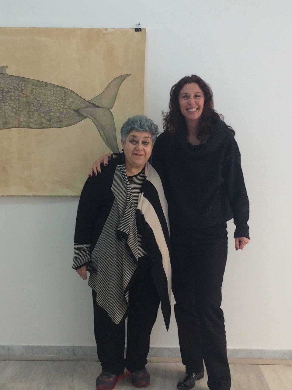 Avvistata a Pietrasanta l'attrice Serra Yilmaz, protagonista dei film di Ferzan Ozpetek