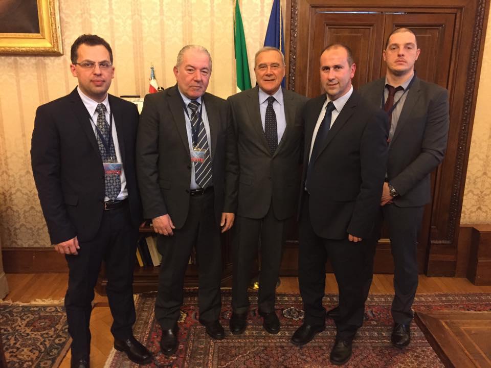 Il Sindaco di Stazzema incontra il Presidente del Senato Pietro Grasso