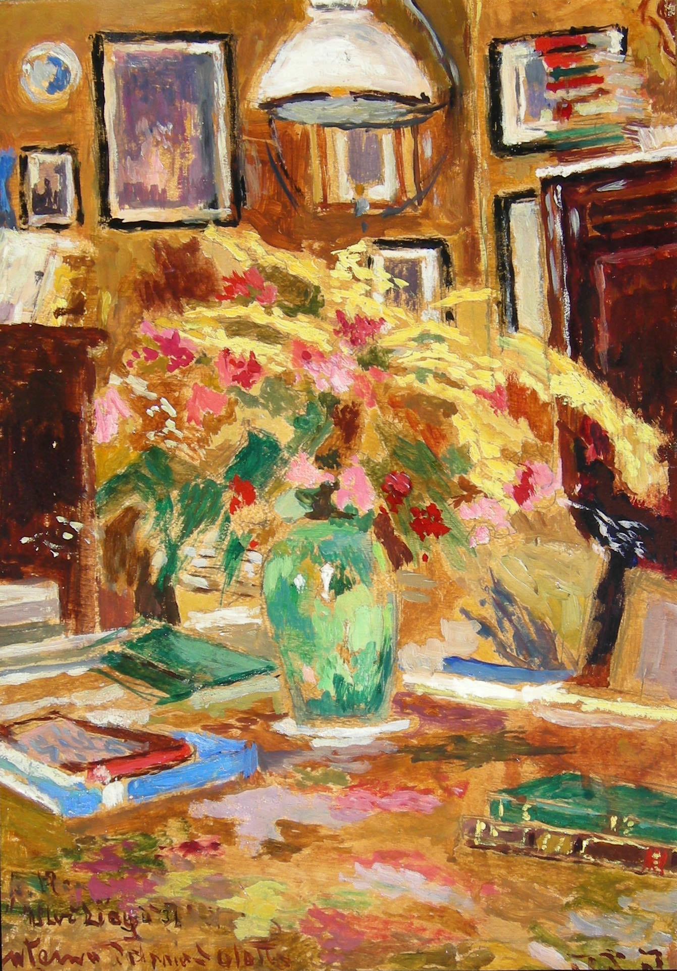 Una raffinata selezione di dipinti di Ulvi Liegi protagonista della stagione della Fondazione Matteucci