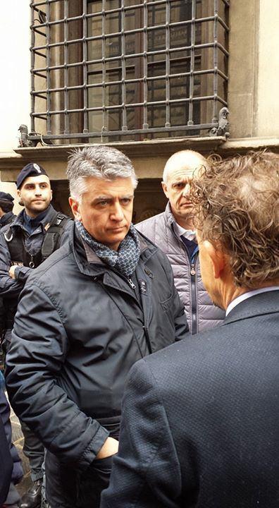 """Mallegni alla protesta a Firenze contro il Piano Paesaggistico. """"Basta con gente come Rossi e Marson"""""""