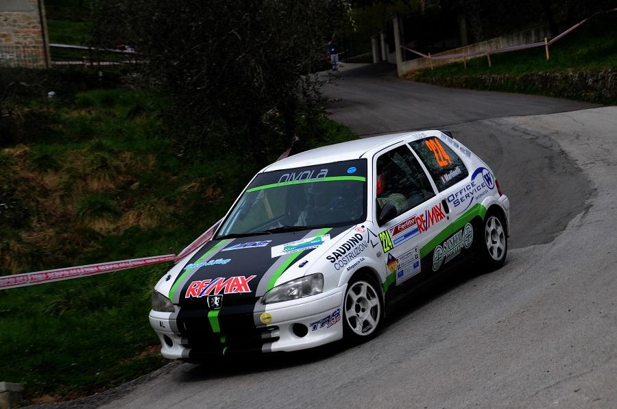 Gianluca Martinelli nuovo leader del Trofeo Rally Automobile Club Lucca