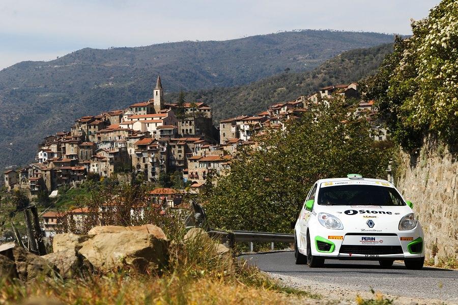 Il versiliese Pisani sul podio al Rallye Sanremo