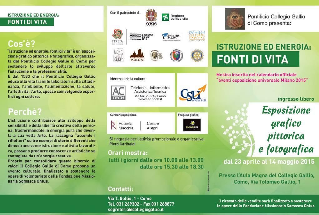Al via la collaborazione tra il Museo Ugo Guidi e il Pontificio Collegio Gallio di Como