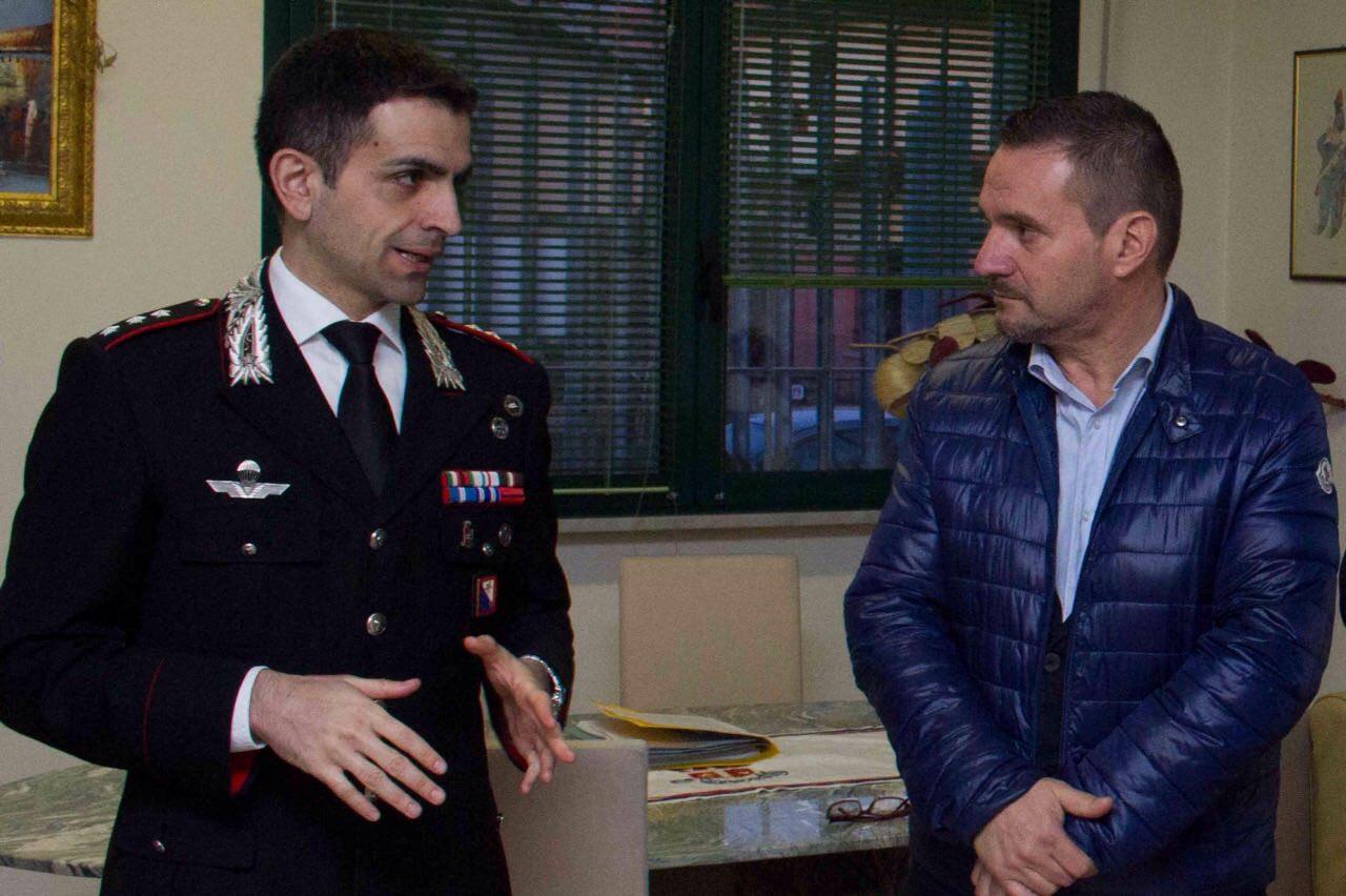 Rapina a Querceta. Il sindaco Ettore Neri si complimenta con i carabinieri per il lavoro svolto