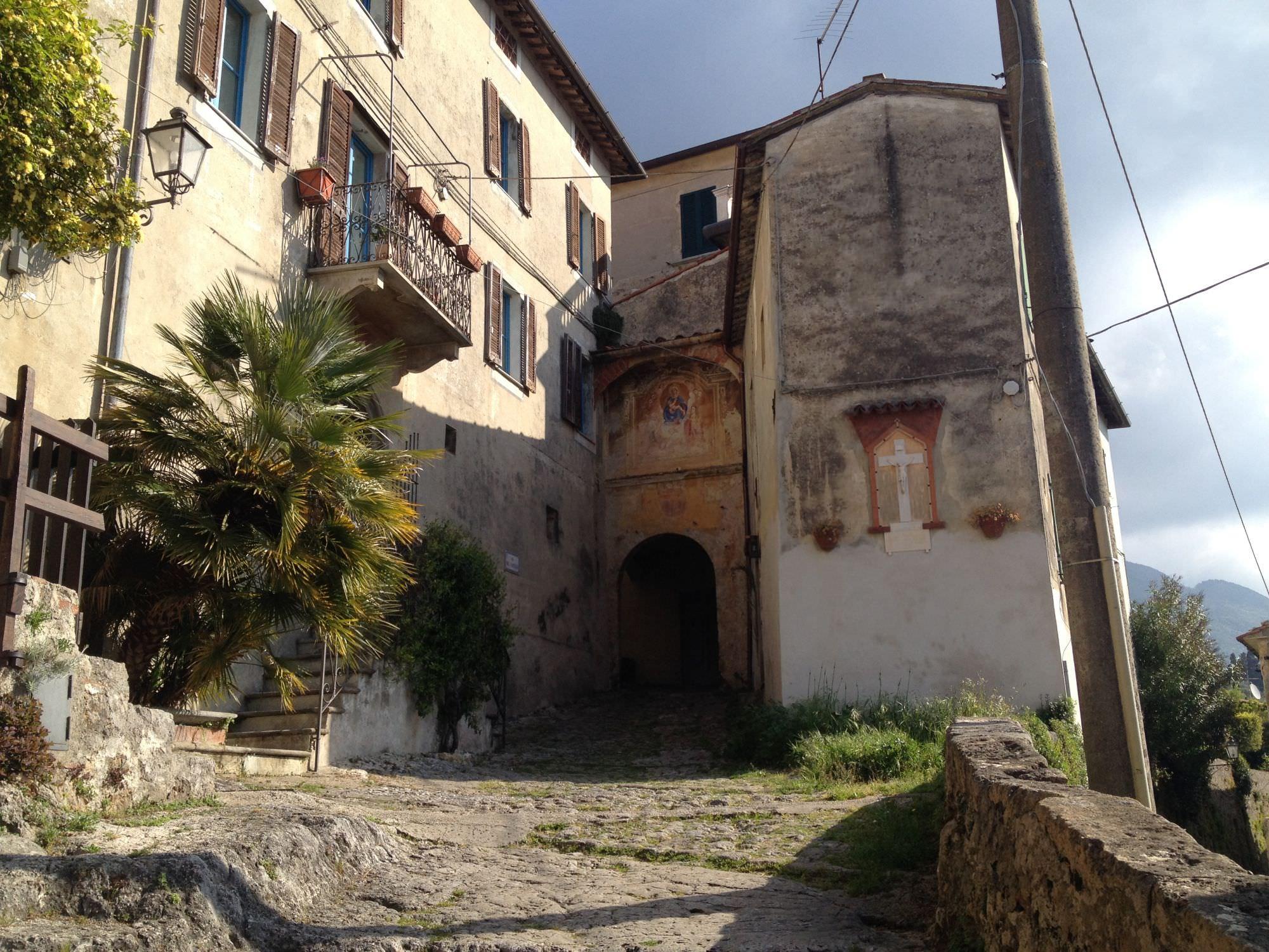 La viabilità per la festa a Monteggiori