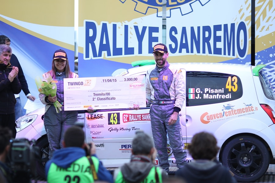 Il versiliese Gianandrea Pisani al Rally Adriatico