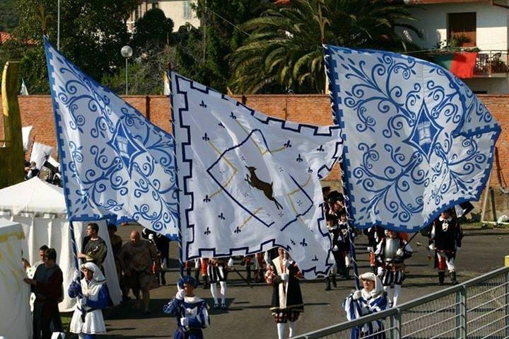 Per la Cervia il riconoscimento ufficiale del Comune di Pietrasanta. Il logo inserito sul sito del Comune con un link al sito della contrada