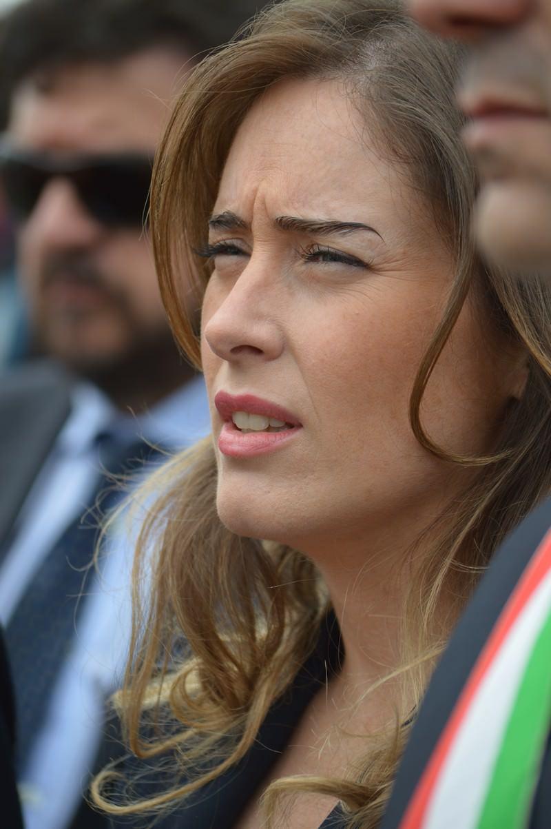 25 Aprile a Sant'Anna con il Ministro Maria Elena Boschi (Le Foto)