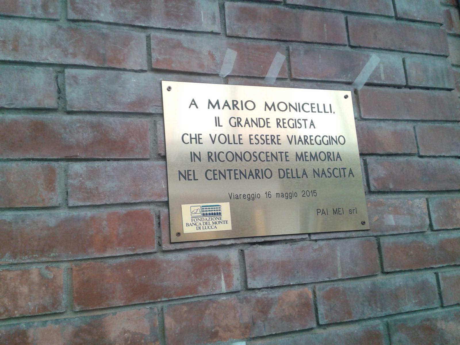 Una targa e tanti appuntamenti per celebrare il centenario dalla nascita di Monicelli