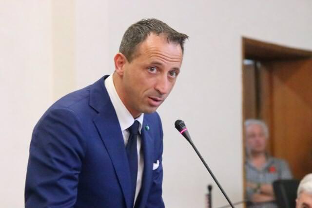 Alessandro Santini in consiglio comunale a Viareggio