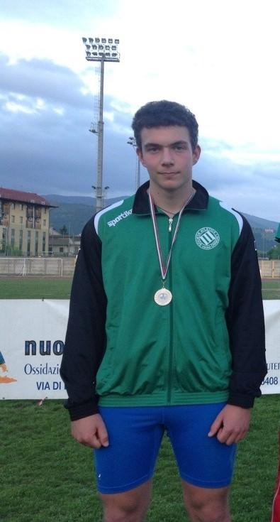 Andrea Picchi premiato all'oscar dello sport