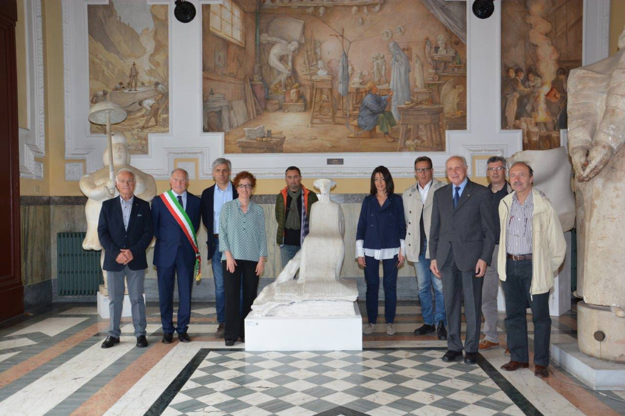 Con le opere di Mitoraj, Vangi e Botero il primo atto del Museo Diffuso