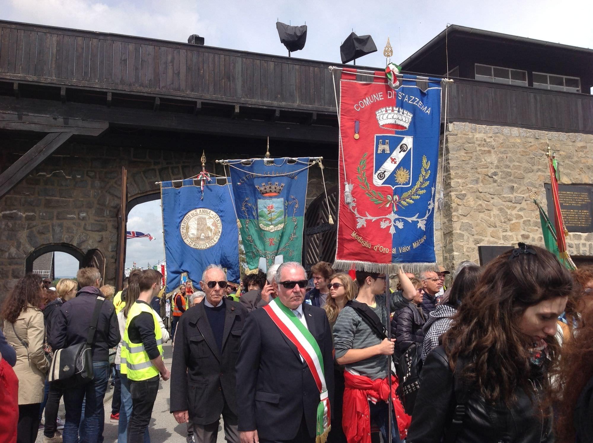 Il vice sindaco Pelagatti a Mauthausen per il 70 esimo anniversario della Liberazione