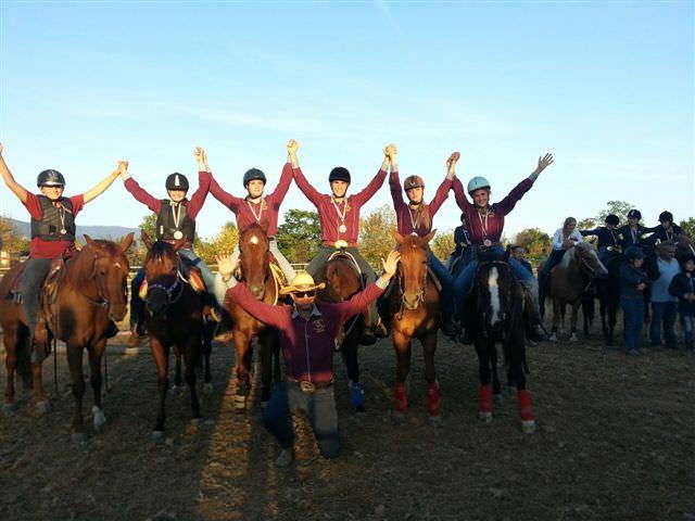 I ragazzi del Cavallo e Noi in gara al salone del cavallo di Reggio Emilia