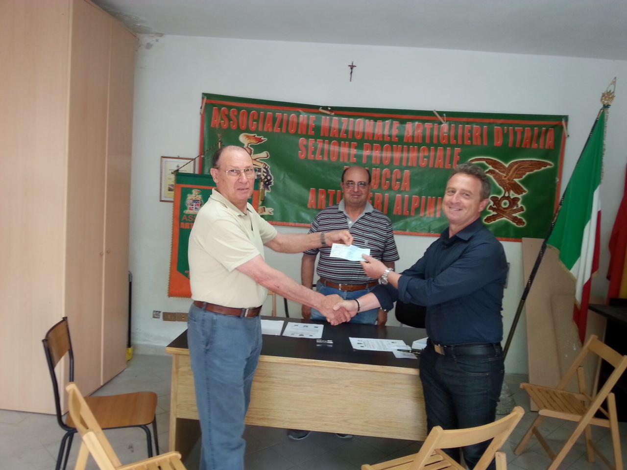 Contributo del Lions Club per la manifestazione sulla Grande Guerra