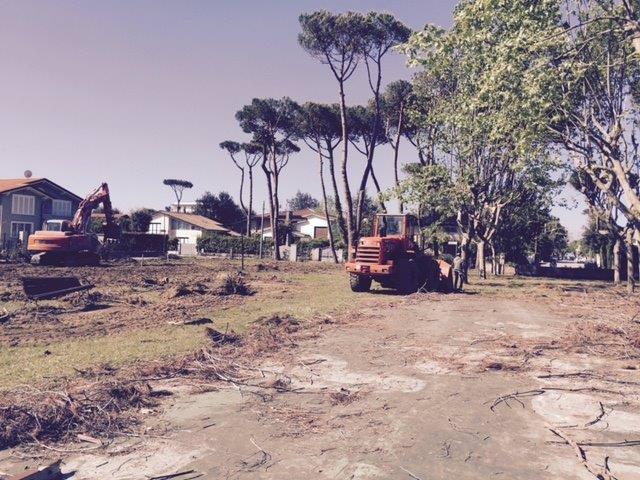 Al via il recupero di piazza Versilia a Fiumetto