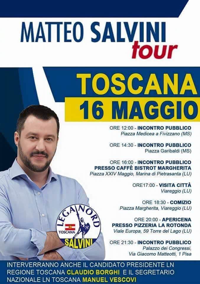 Matteo Salvini a Torre del Lago, la rabbia del mondo gay