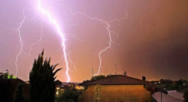 Pioggia intensa, allerta meteo per il nord della Toscana