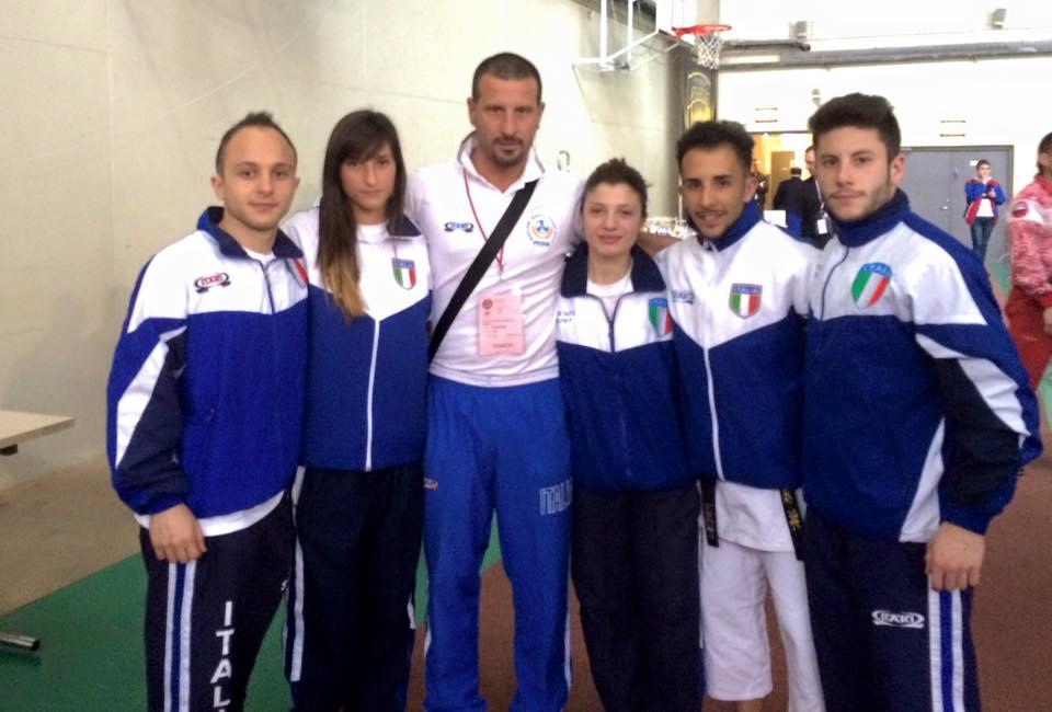 Tre ori ai Mondiali per la Nazionale di karate del ct viareggino Gasperini