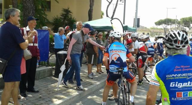 Ciclopedalata per non dimenticare le stragi di Moby Prince, Viareggio e Costa Concordia