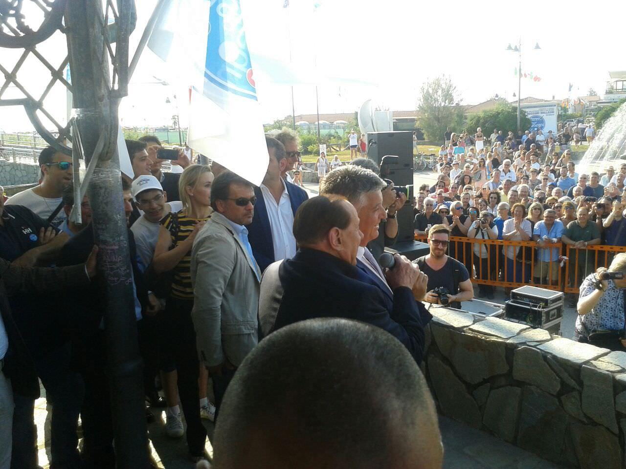 Silvio Berlusconi non sarà alla Versiliana
