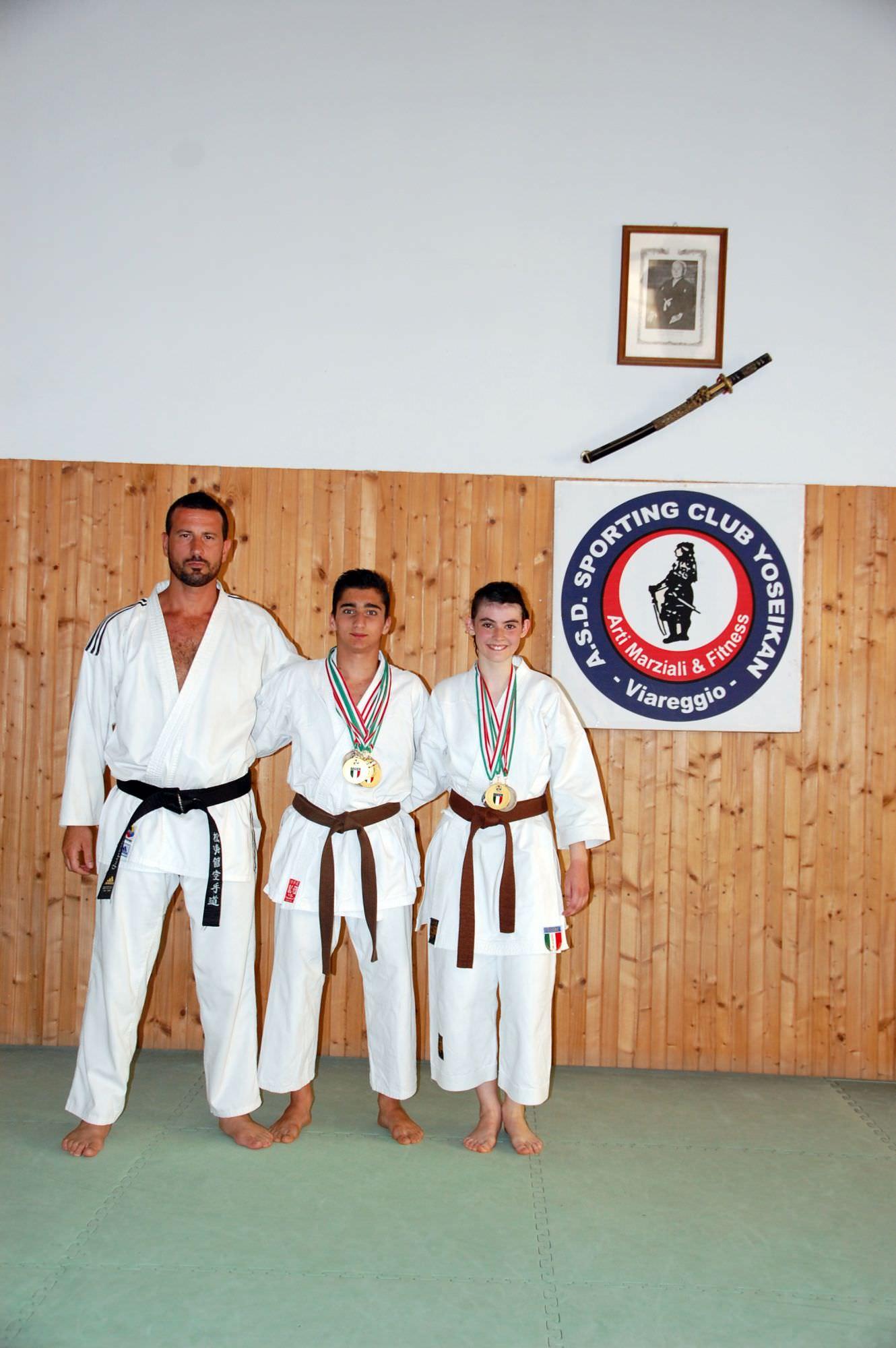 Esaltanti risultati per la Yoseikan ai campionati italiani di karate