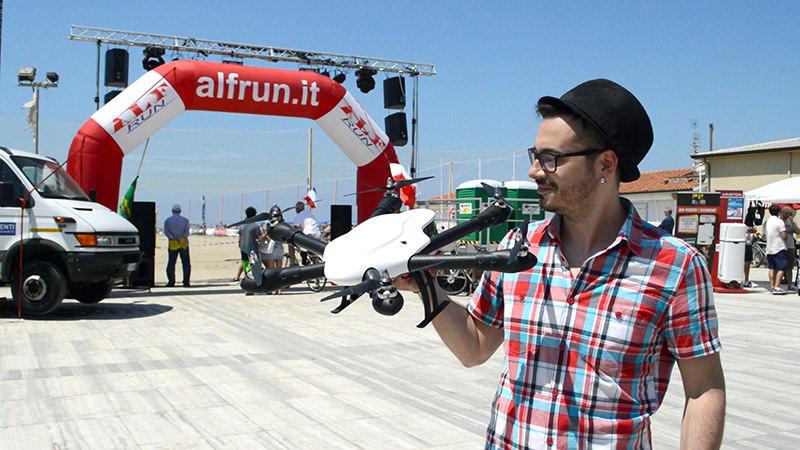 Su NoiTv lo speciale dedicato ai Droni a Lido di Camaiore