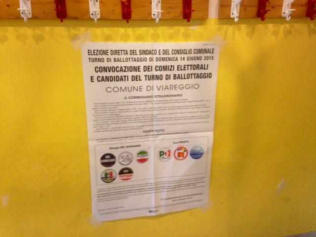 Elezioni 2015, l'affluenza alle urne del ballottaggio a Pietrasanta e Viareggio alle ore 19