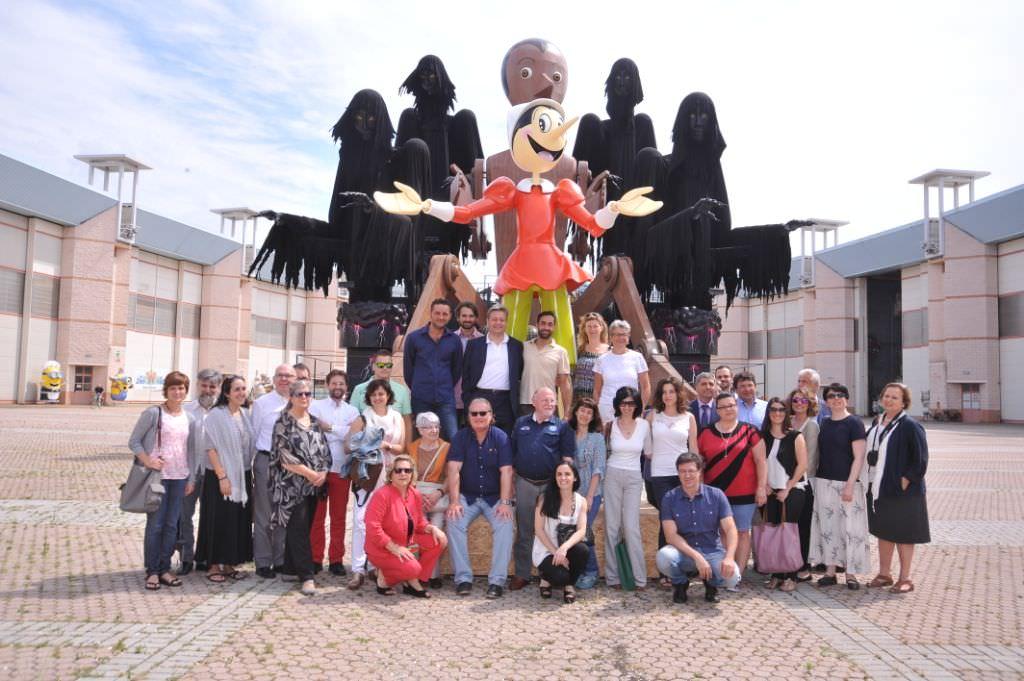 """Svelato il Pinocchio """"made in Viareggio"""" protagonista all'Expo 2015 di Milano"""