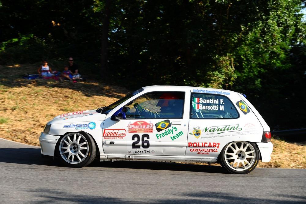 Al Freddy's Team la coppa delle scuderie del Rally Città di Lucca