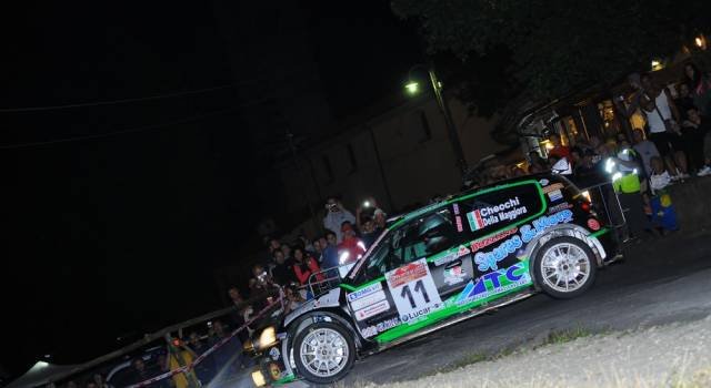 Rally Città di Lucca, a Checchi-Della Maggiora la classe S1600