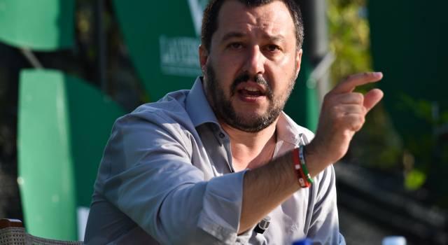 """Salvini: """"Svelate le bugie della sinistra. La Lega corre per vincere"""""""