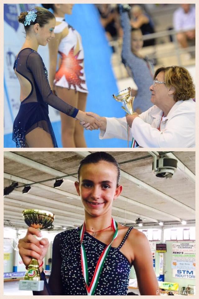 Rebecca Vizzoni e Vittoria Benedetti portano in alto la Angel'S Skate di Pietrasanta