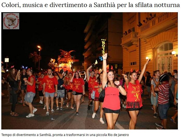 In Piemonte e a Marina di Pisa un carnevale estivo…con i carri di Viareggio