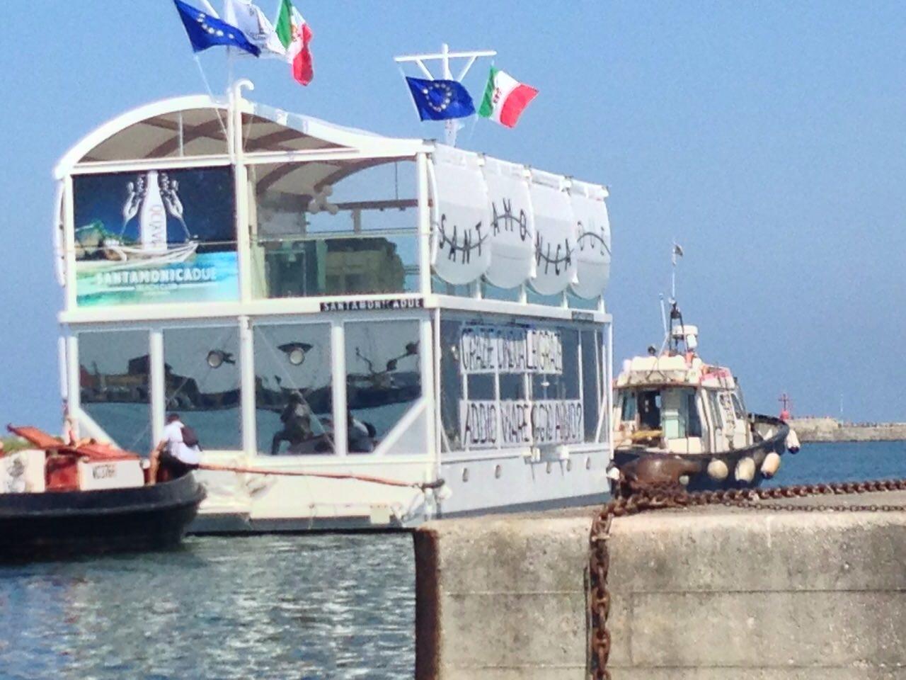 Viareggio perde il Santa Monica Due, il bar galleggiante emigra al Cin