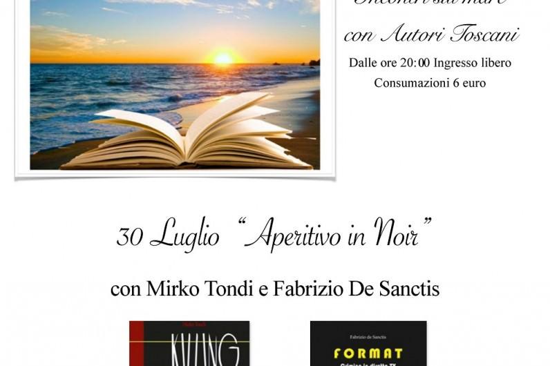 Un libro al tramonto al bagno paradiso ogni gioved incontri con autori eventi - Bagno elena forte dei marmi ...