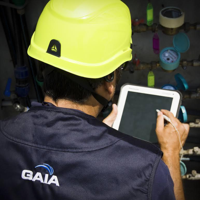 Gaia legge i contatori dell'acqua in Versilia