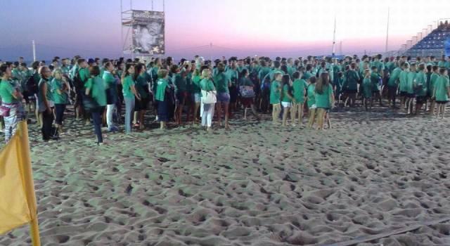 """Beach Stadium gremito per il via del memorial """"Matteo Valenti"""""""